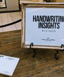 Handwriting Insights Activation with Mont Blanc